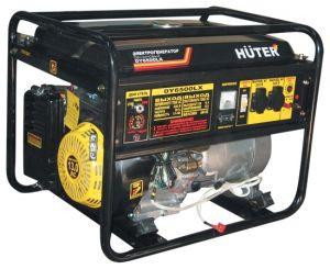 Бензиновый генератор Huter DY6500LX электростартер с пультом